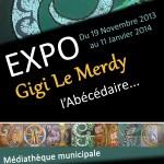 Affiche TRIGNAC abécédaire - Gigi Le Merdy